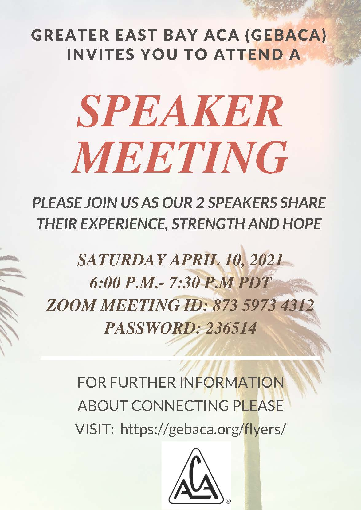updated speaker meeting flier